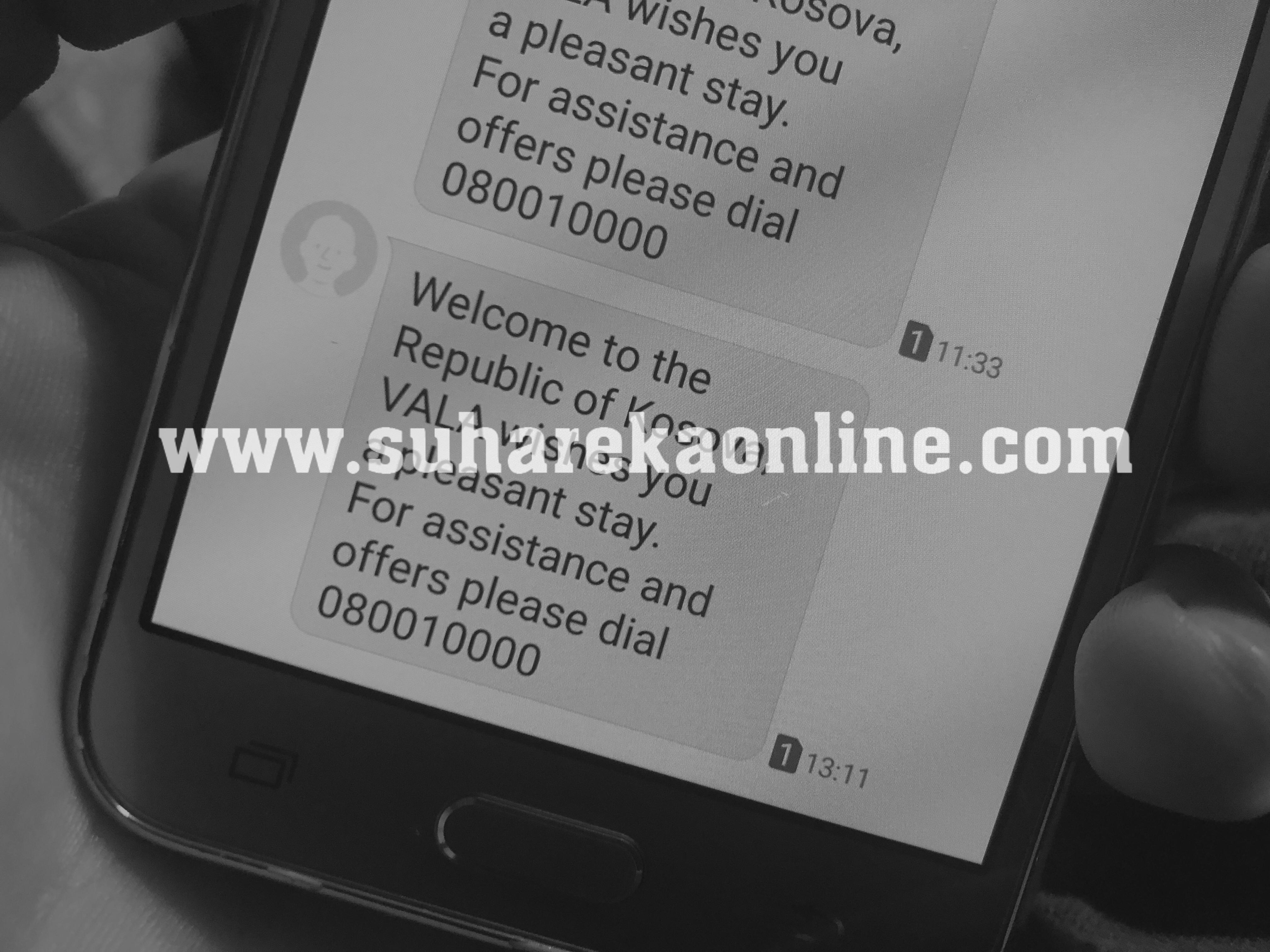 Vendet e Ballkanit nga korriku pa tarifa për roaming