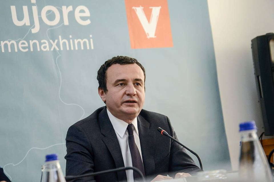 LVV: S'ka ndryshim pa Kurtin kryeministër