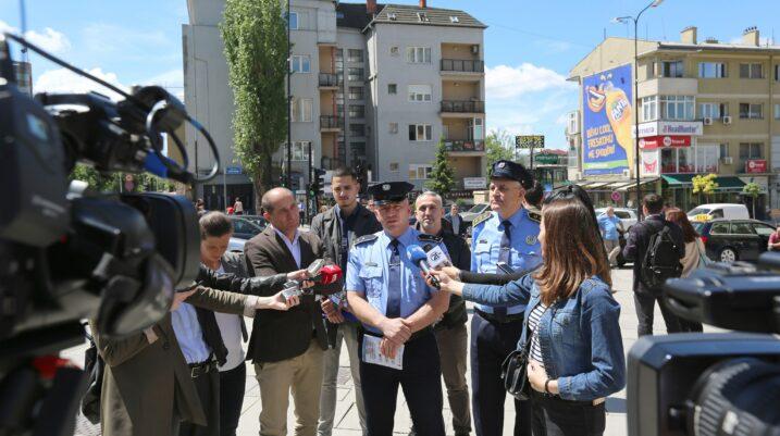 Policia e Kosovës lanson fushatën 'Të gjithë jemi këmbësorë'