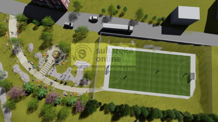 [DOKUMENT] 58 mijë euro për terenin sportiv dhe këndin e lojërave në Leshan