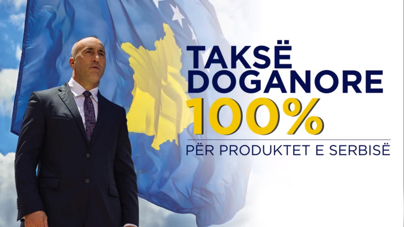 Taksa 100%: 445 milionë euro më pak mallra të Serbisë e Bosnjës