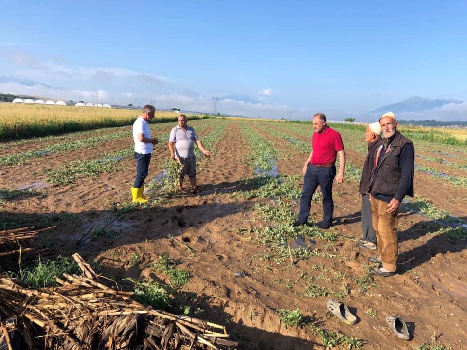 350 mijë euro vlera e dëmeve të vërshimeve në Suharekë