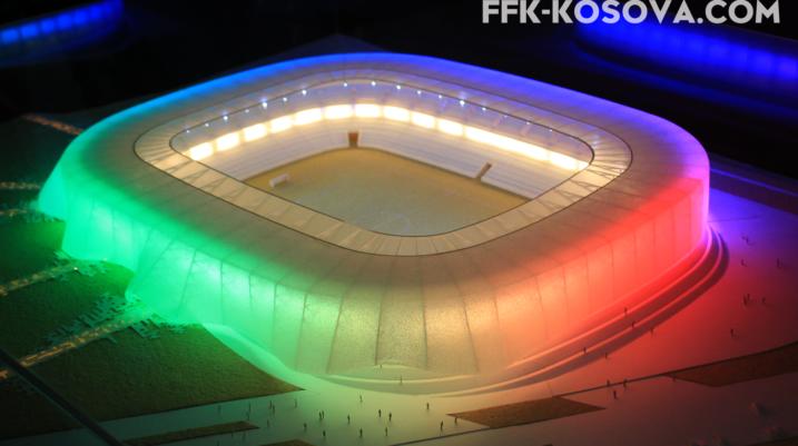 Prezantohet projekti i Stadiumit Kombëtar të Kosovës