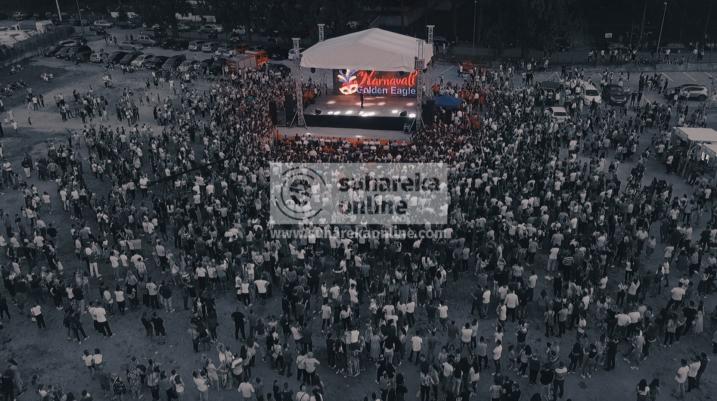 """[FOTO/VIDEO] Karnavali """"Golden Eagle"""" me përmasa botërore"""