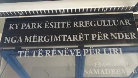 """Samadrexha falënderon mërgimtarët për """"Parkun e Dëshmorëve"""""""