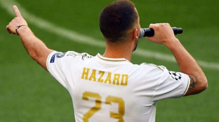 Eden Hazard e zgjedh numrin e fanellës në Real Madrid