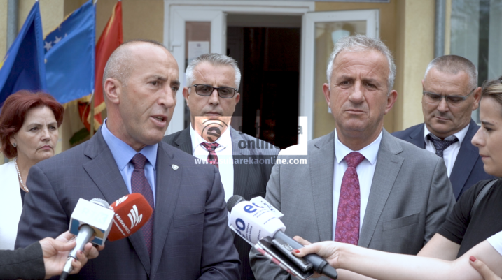 Haradinaj: Suhareka po dëshmon një dinamikë të hovshme zhvillimore