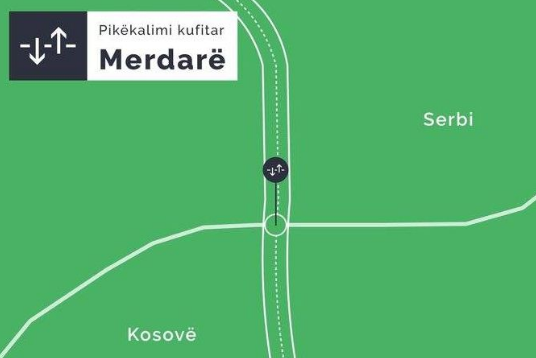 Merdare, deri në tri orë pritje për të hyrë në Kosovë