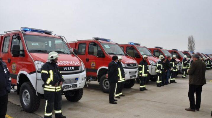 Zjarrëfiksat e Kosovës nga dita e enjte në grevë