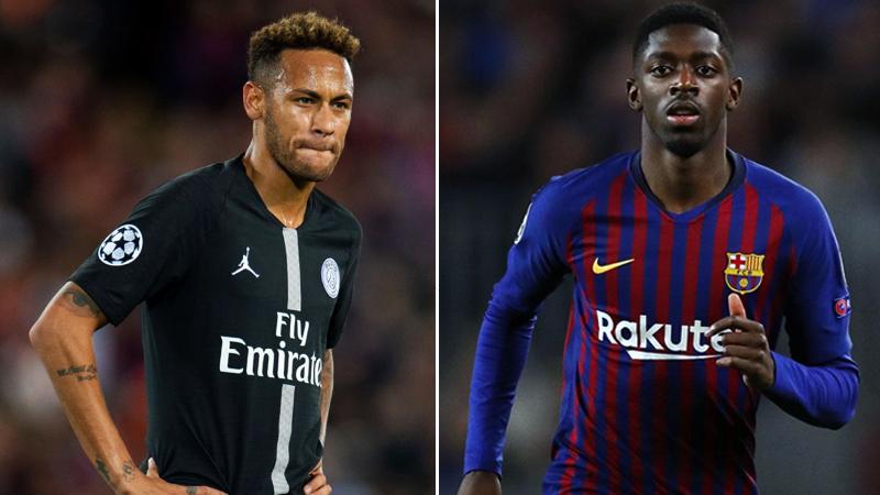 Barcelona përfshin Dembele-n në rikthimin e Neymar