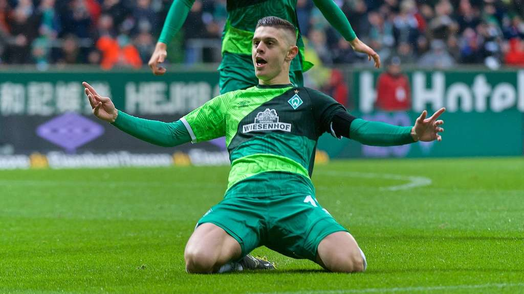 Milot Rashica nuk ka të ndalur, shënon gol të bukur ndaj Delmenhorst