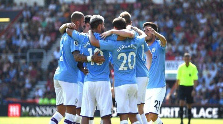 Manchester City 'shkatërron' Bournemouth, ngjitët në vendin e dytë