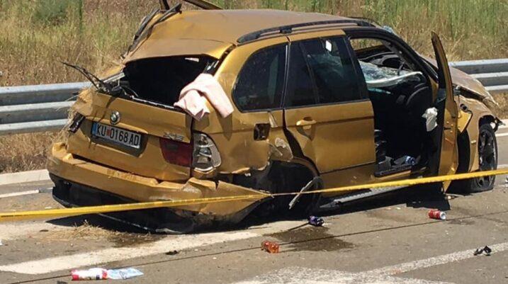 Një person i vdekur dhe katër të lënduar nga aksidenti fatal në afërsi të Suharekës