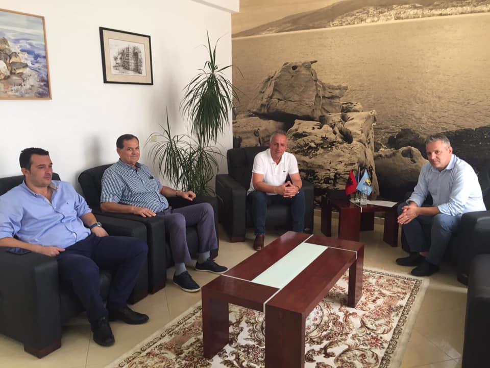 Muharremaj në vizitë zyrtare në Sarandë