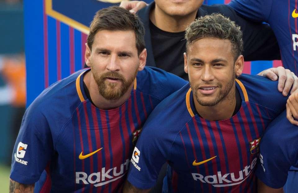Lionel Messi bind Neymar të zgjedhë Barcelonën