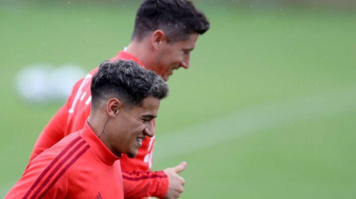 Coutinho fillon stërvitjet e para me skuadrën e Bayernit
