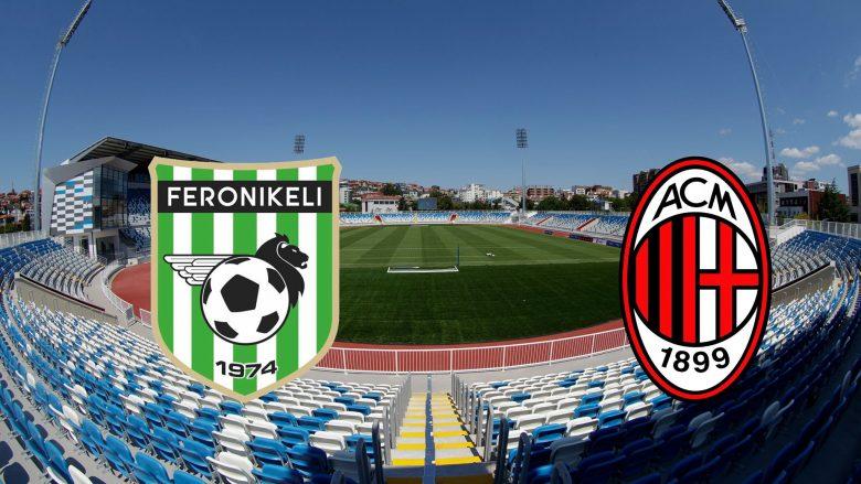 Sonte ndeshje historike në Kosovë, Feronikeli ndaj AC Milan