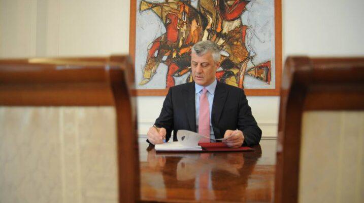 Presidenti Thaçi: Kam nënshkruar nominimin e Kurtit për kryeministër