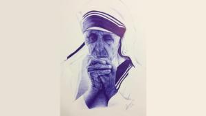 Artisti nga Suhareka me një mënyrë të veçantë uron ditëlindjen e Nënës Terezë