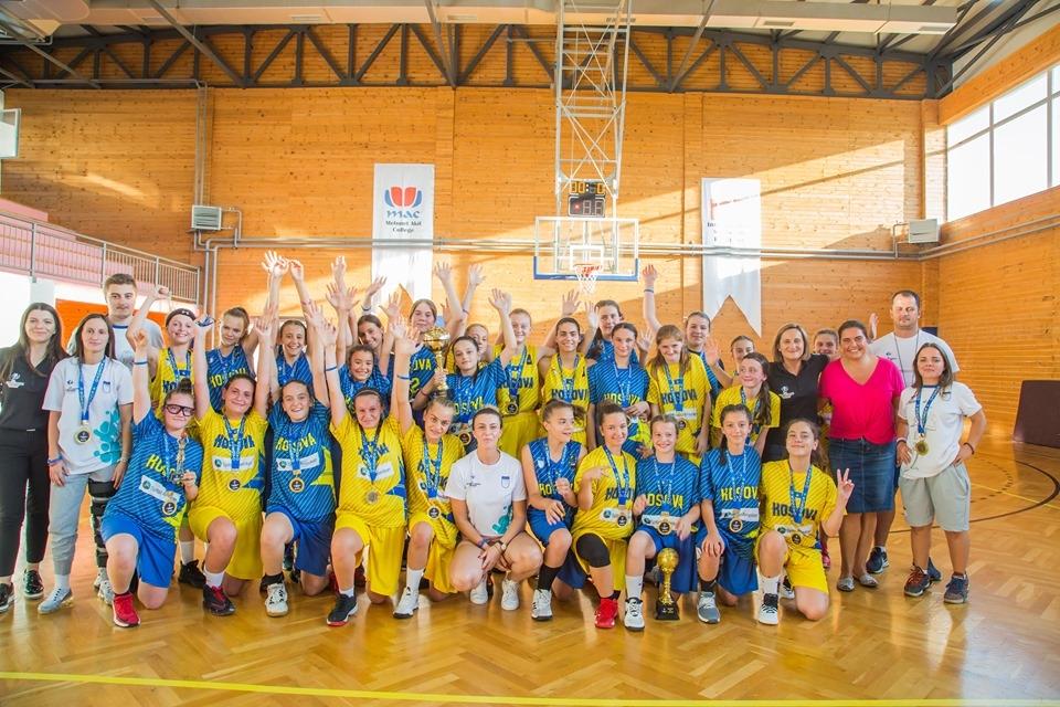 Spektakli i femrave U14 në Kampin Nacional në Suharekë vazhdon edhe në Evropian