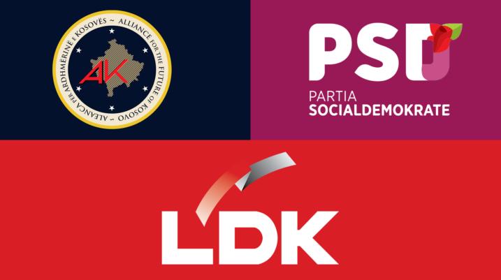Pas zyrtarizimit të koalicionit me PSD-në, AAK kërkon koalicion edhe me LDK-në