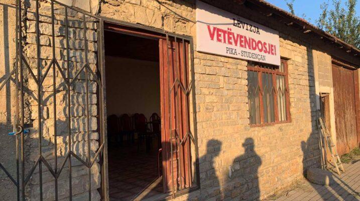 Lëvizja Vetëvendosje hap zyrën në fshatin Studençan të Suharekës