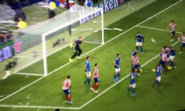 Atletico Madrid e trondit Juventusin