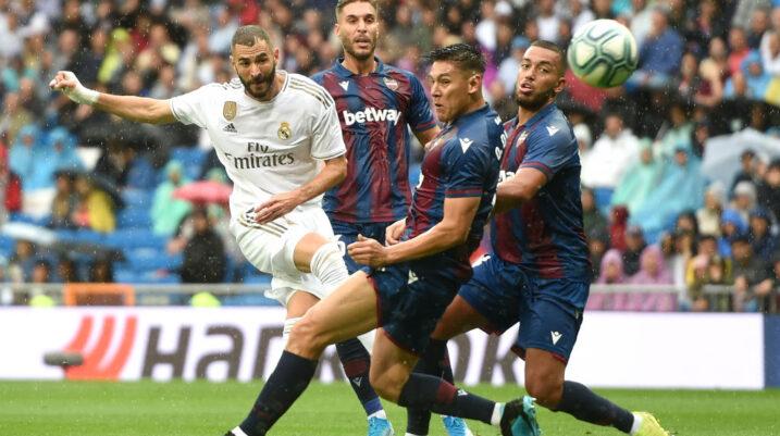 Real Madridi kthehet te fitoret, mposhtë Levanten në Santiago Bernabeu