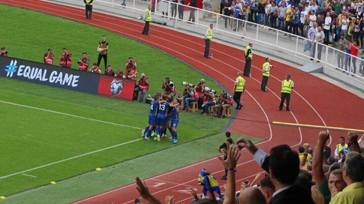 Kosova në epërsi, Vojvoda shënon golin e dytë