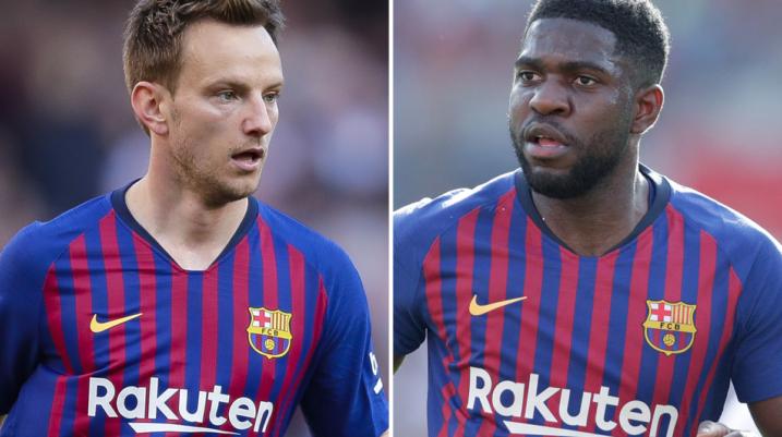 Barcelona planifikon shitjen e Rakitic dhe Umtiti