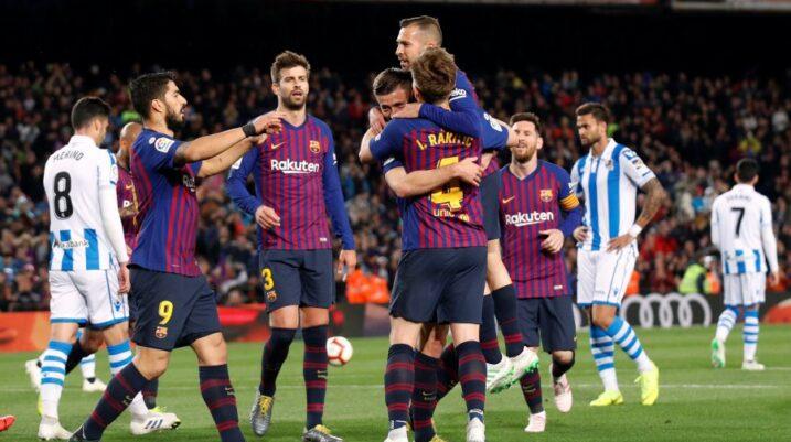 Barcelona largon dy mesfushorë në janar