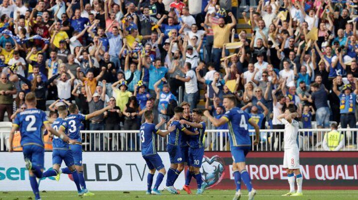 Nesër ndeshja Angli – Kosovë,  'Dardanët' më të fortit në grup