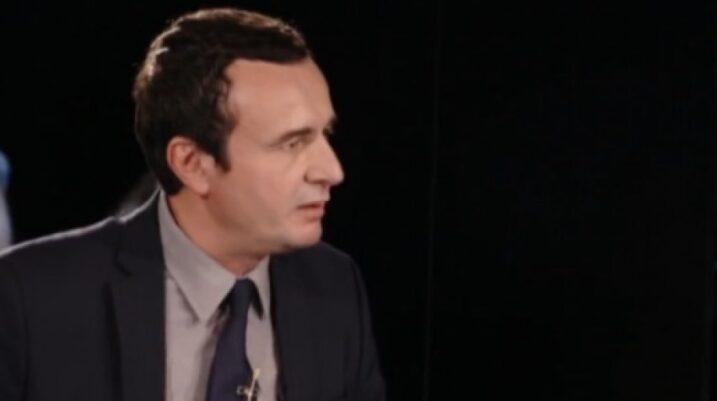 Albin Kurti: Kosova ka të drejtë t'i bashkohet Shqipërisë