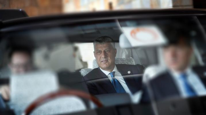 Thaçi ka thënë që për sa kohë që ai është president, koalicioni LVV-LDK nuk bëhet