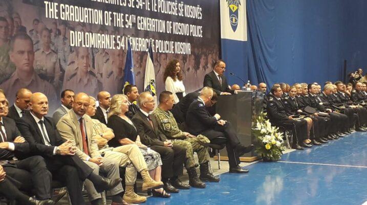 Diplomojnë 416 kadetë të rinjë në polici
