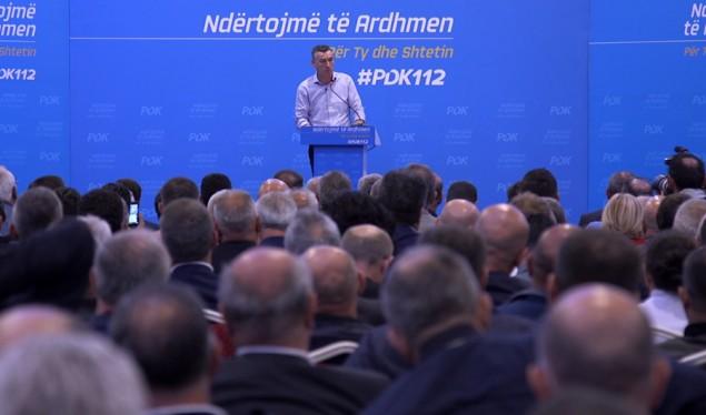Kadri Veseli merr mbështetjen për kryeministër nga të gjitha ish-strukturat e PDK-së