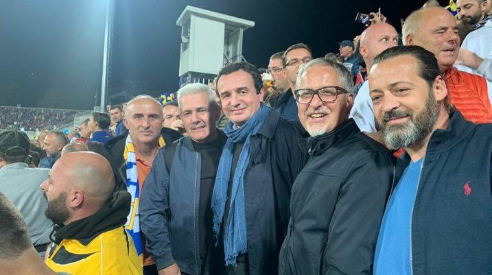 Albin Kurti: Për ekipin tonë të Kosovës presim atë që duam – fitore