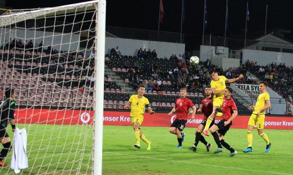 Shqipëria e mund Kosovën, ia vështirëson punët për kualifikim në Euro 2021