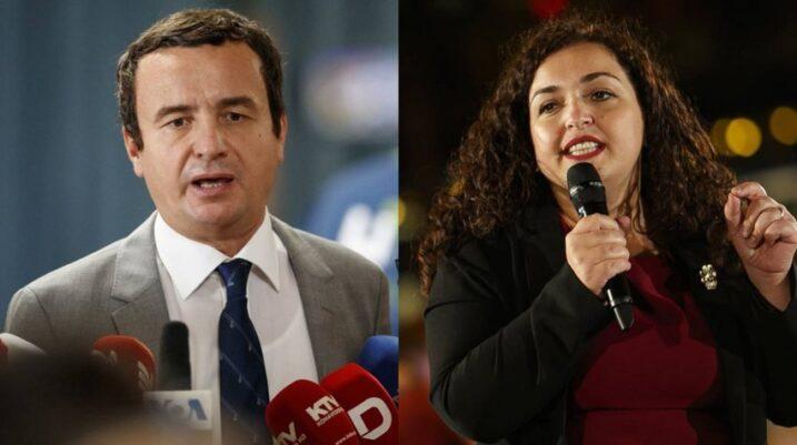 Albin Kurti e Vjosa Osmani thyejnë rekord me vota