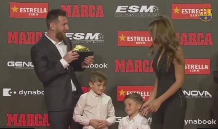 Messi shpërblehet me Këpucën e Artë për herë të gjashtë