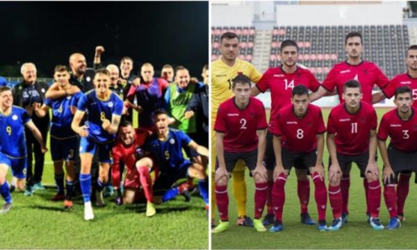 Shqipëria pret sonte Kosovën për Kampionatin Evropian U-21