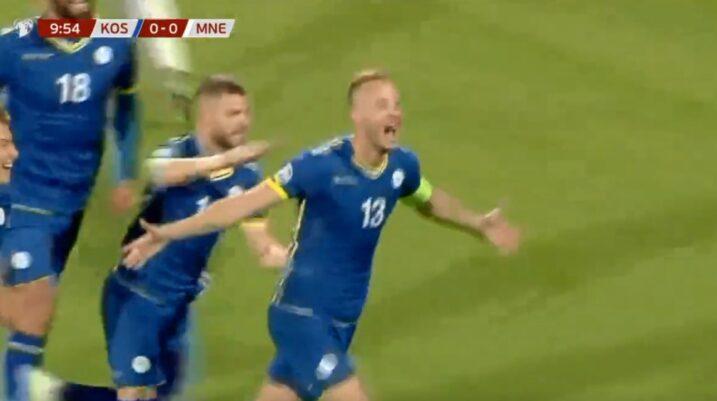 Kosova shënon ndaj Malit të Zi, çfarë goli i realizuar nga Rrahmani