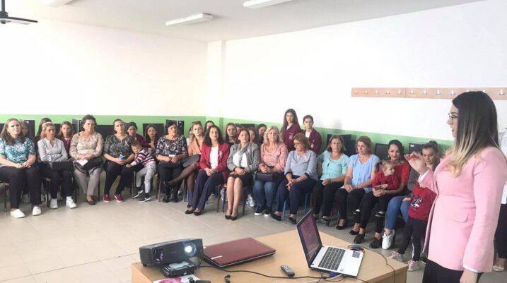 Mbahet ligjëratë sensibilizuese kundër kancerit të gjirit në fshatin Studençan