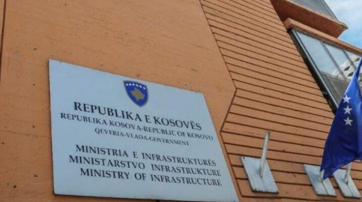 Edhe 2 mijë e 300 euro planifkojnë t'i harxhojnë për çadra, çanta e llogo të Ministrisë së Infrastrukturës