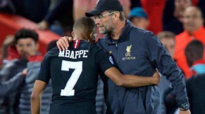 Klopp: Liverpool s'ka para për të blerë Kylian Mbappe-n