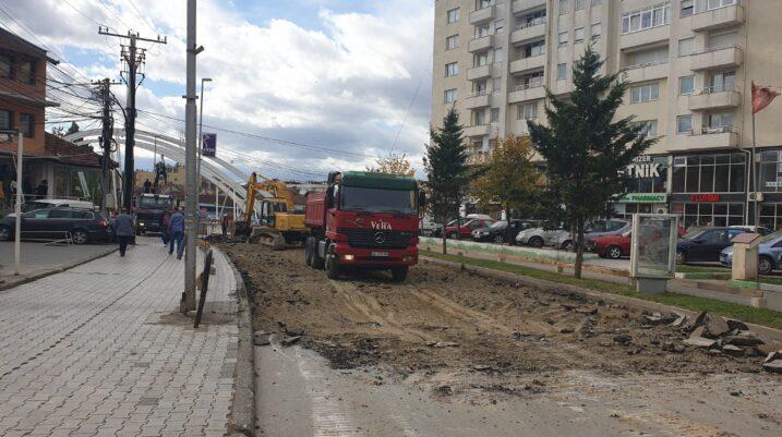 Kanë filluar punimet në ndërtimin e Sheshit qendror të qytetit