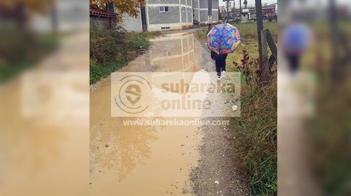 """Moti i ligë vështirëson qarkullimin e qytetarëve në rrugën """"Dëshmorët Bytyqi"""""""