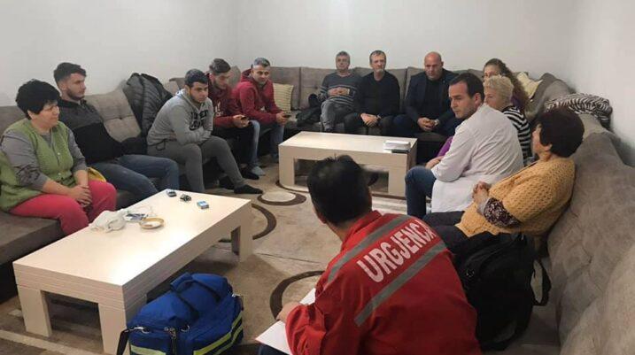 QKMF e Suharekës fillon vizitat mjekësore tek të zhvendosurit e Shqipërisë në Suharekë