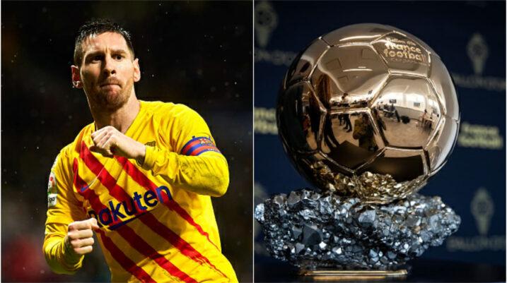Lionel Messi shkruan historinë, rrëmben për herë të gjashtë 'Topin e Artë'
