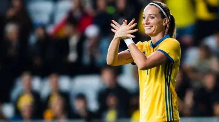 Kosovare Asllani e nominuar për 'Topin e Artë'